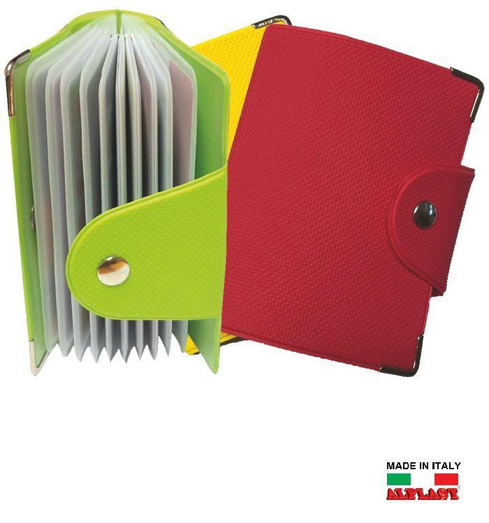 PORTA CARDS MORBIDO 12T 24pz TWENTY ALPLAST