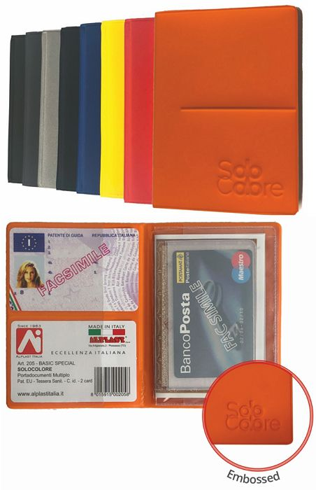 PORTA CARDS MORBIDO 24pz BASIC PLURICARD ALPLAST