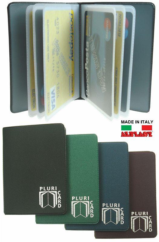 PORTA CARDS MORBIDO 24pz 14T PLURICARD ALPLAST