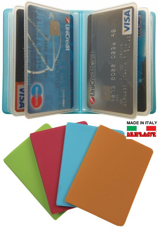 PORTA CARDS MORBIDO 24pz 14T PLURICARD SMILE ALPLAST