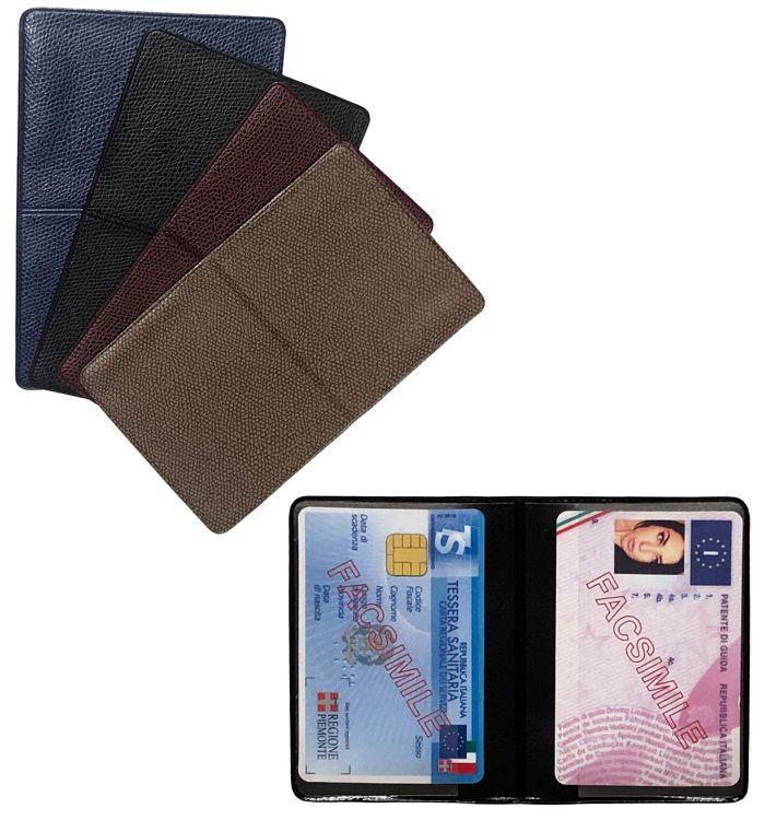 PORTA CARDS MORBIDO  20pz  2T BICARD SIMILPELLE