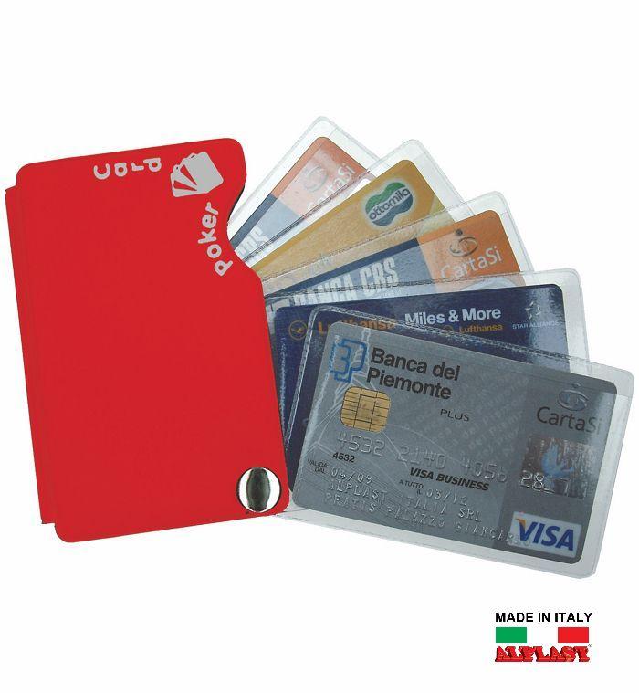 PORTA CARDS MORBIDO 20pz 5T POKERCARD ALPLAST