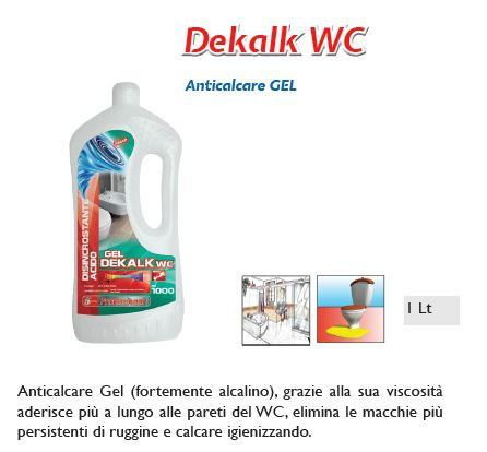 DETERGENTE DEKALK 1pz 750ml - SUPER5