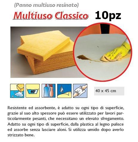 PANNO MULTIUSO CLASSICO 10pz - SUPER5