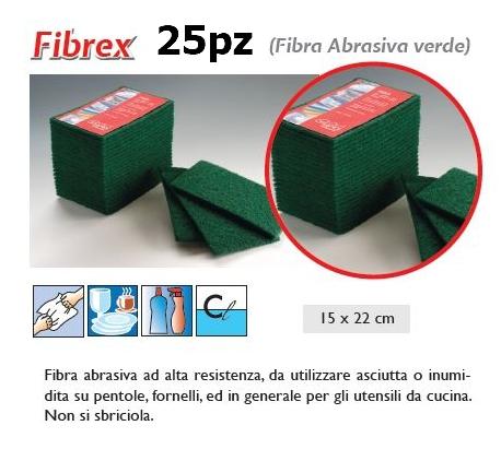 SPUGNA FIBREX ABRASIVA 25pz - SUPER5