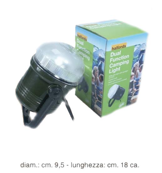 TORCIA CAMPING GREEN 1pz CON APPOGGIO