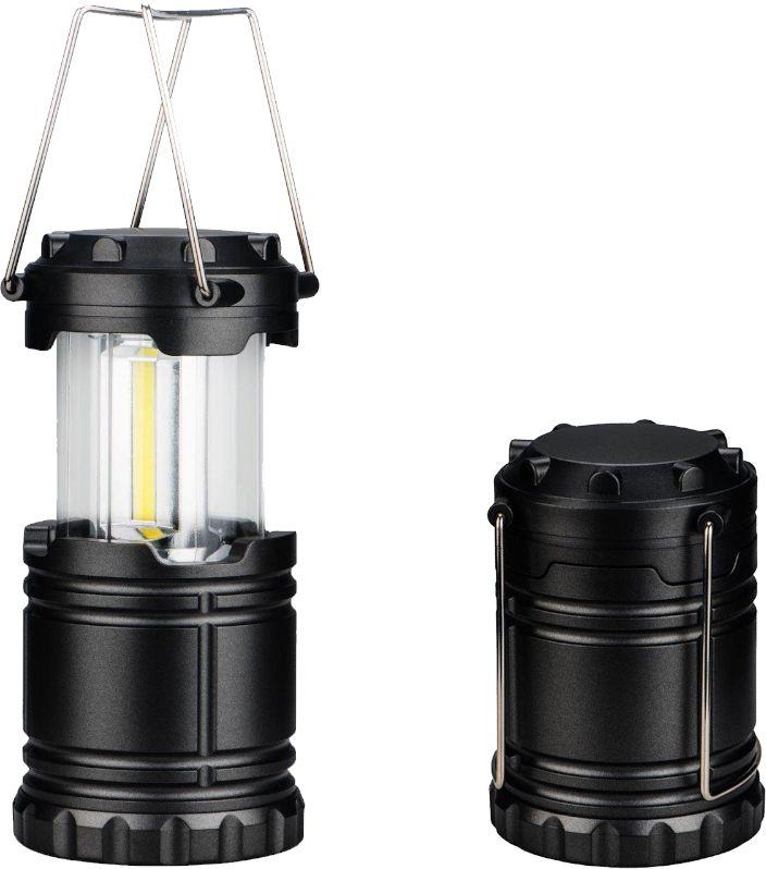 TORCIA LED DA CAMPEGGIO LANTERNA 1pz - NOVALINE  (batterie 3 x AA non incluse)