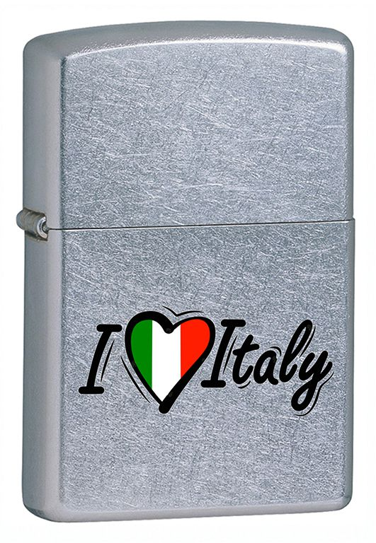 ZIPPO ACCENDINO I LOVE ITALY 1pz